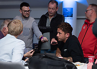 Football - 2019 / 2020 Gallagher Premiership Rugby - New Season Launch Media Photocall<br /> <br /> Gloucester Rugby's Danny Cipriani fields questions during an open media session, at Twickenham.<br /> <br /> COLORSPORT/ASHLEY WESTERN