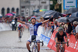 Coryn Rivera (UnitedHealthcare) wins the final stage at Thüringen Rundfarht 2016 - Stage 7 a 131 km road race starting and finishing in Gera, Germany on 21st July 2016.
