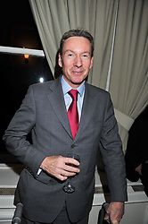 FRANK GARDNER at a dinner in aid of the charity Save The Rhino held at ZSL London Zoo, Regents Park, London NW1 on 16th November 2011.