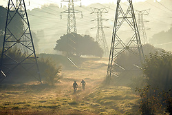 JOHANNESBURG, SOUTH AFRICA - MAY 10: Cyclists out exercising in Randburg during lockdown level 4 on May 10, 2020 in Johannesburg, South Africa. According to media reports, during lockdown level 4 people are allowed to exercise. Guidelines allow for cycling, running and walking as examples and must be within a 5km radius of their residences between 6:00 am – 9:00 am. (Photo by Dino Lloyd)