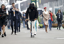 October 27, 2018 - Mexico-City, Mexico - Motorsports: FIA Formula One World Championship 2018, Grand Prix of Mexico, .#44 Lewis Hamilton (GBR, Mercedes AMG Petronas Motorsport) (Credit Image: © Hoch Zwei via ZUMA Wire)