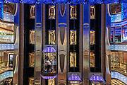COSTA CROCIERE: ascensori panoramici, panoramic elevator