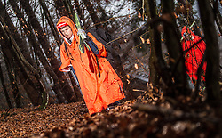 05.01.2014, Paul Ausserleitner Schanze, Bischofshofen, AUT, FIS Ski Sprung Weltcup, 62. Vierschanzentournee, Training, im Bild Karl Geiger (GER)  // Karl Geiger (GER) during practice Jump of 62nd Four Hills Tournament of FIS Ski Jumping World Cup at the Paul Ausserleitner Schanze, Bischofshofen, Austria on 2014/01/05. EXPA Pictures © 2014, PhotoCredit: EXPA/ JFK