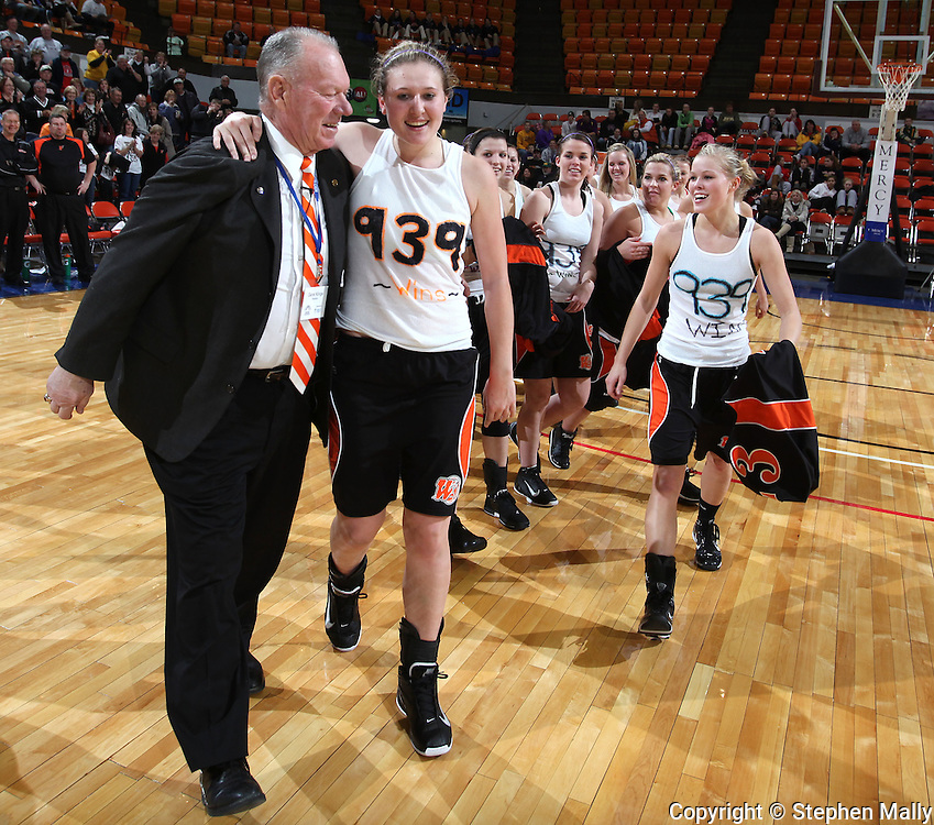 Waukon defeated MFL MarMac 48-38 for Coach Gene Klinge's 939th career victory during their Rivalry Saturday game at the US Cellular Center in Cedar Rapids on Saturday January 2, 2010. (Stephen Mally/Freelance)