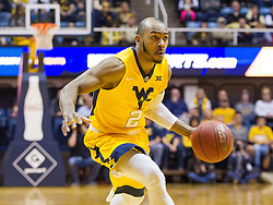 Dec 10, 2016; Morgantown, WV, USA; West Virginia Mountaineers guard Jevon Carter (2) drives down the lane during the first half against the Virginia Military Keydets at WVU Coliseum. Mandatory Credit: Ben Queen-USA TODAY Sports