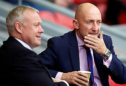 LIVERPOOL, ENGLAND - Saturday, October 5, 2013: Crystal Palace's manager Ian Holloway before kick-off against Liverpool during the Premiership match at Anfield. (Pic by David Rawcliffe/Propaganda)