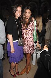 Left to right, CRESSIDA WILSON and ZARA SIMON at the Quintessentially Summer Party at the Wallace Collection, Manchester Square, London on 6th June 2007.<br /><br />NON EXCLUSIVE - WORLD RIGHTS