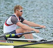Caversham, Great Britain. GBR M2X, Bow. Matt WELLS  GB Rowing media day, GB Rowing Training Centre, Caversham. Tuesday   18/05/2010 [Mandatory Credit. Peter Spurrier/Intersport Images]