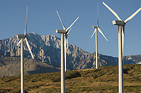 Wind Turbines at San Gorgonio Pass, California