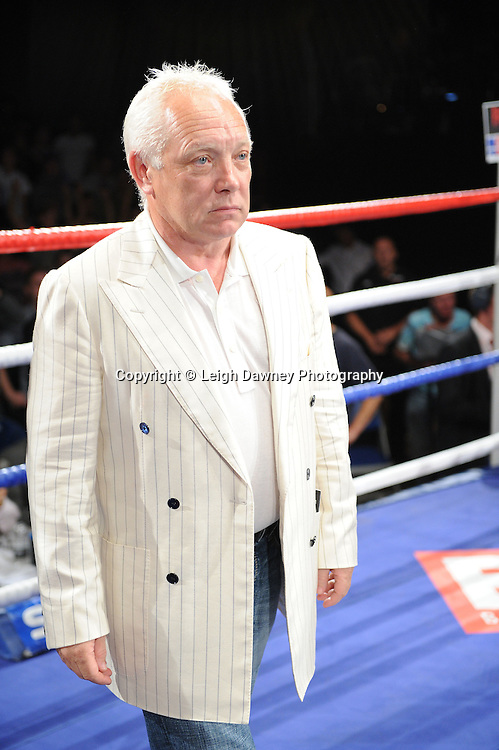 Frank Maloney at the Doncaster Dome, Doncaster, Uk, 3rd September 2011. Frank Maloney Promotions. Photo credit: Leigh Dawney 2011