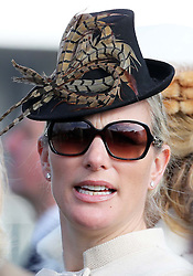 Zara Phillips  at the opening day of the Cheltenham Festival, United Kingdom, Tuesday, 11th March 2014. Picture by Stephen Lock / i-Images
