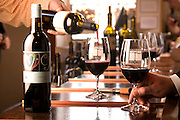 The Vintner's Collective, Napa, California. Napa Valley. Located in Napa's oldest commercial building built in 1875, the collective features wines from nearly 20 small wineries that can be tasted at the bar.