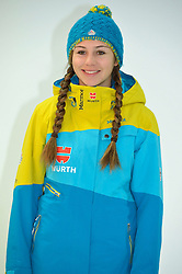 11.11.2014, MOC, München, GER, Snowboard Verband Deutschland, Einkleidung Winterkollektion 2014, im Bild Carolin Langenhorst // during the Outfitting of Snowboard Association Germany e.V. Winter Collection at the MOC in München, Germany on 2014/11/11. EXPA Pictures © 2014, PhotoCredit: EXPA/ Eibner-Pressefoto/ Buthmann<br /> <br /> *****ATTENTION - OUT of GER*****