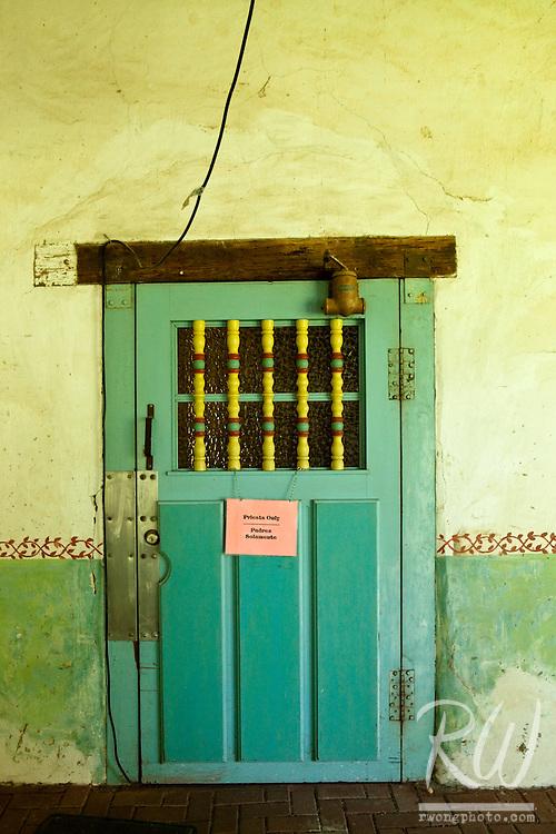 Green Door, Mission San Miguel Arcangel, California