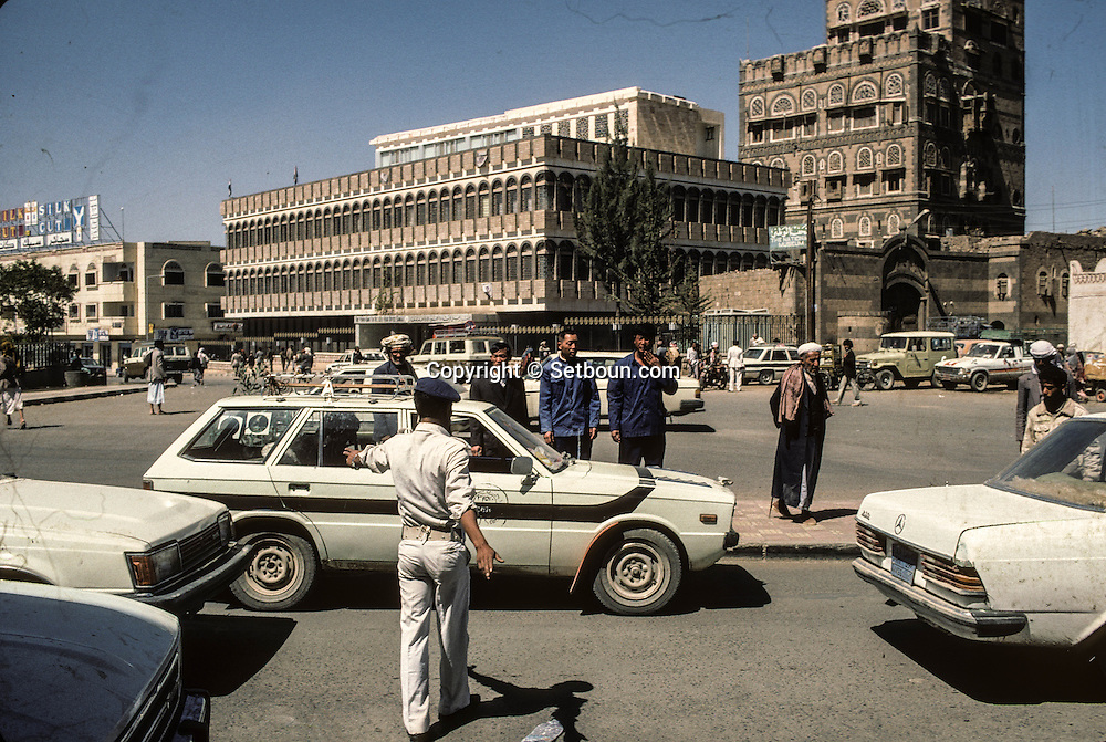 Yemen. Sanaa. Chinese presence in        /   présence Chinoise