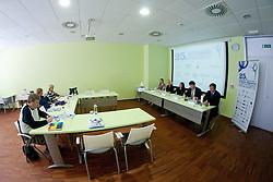 at Press conference of 25th International tournament MTM Narodni dom, on April 3, 2012 at Unija racunovodska hisa d. d., Brezovica, Slovenia. (Photo By Matic Klansek Velej / Sportida.com)