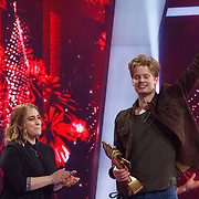 NLD/Hilversum/20180216 - Finale The voice of Holland 2018, winnaar Jim van der Zee