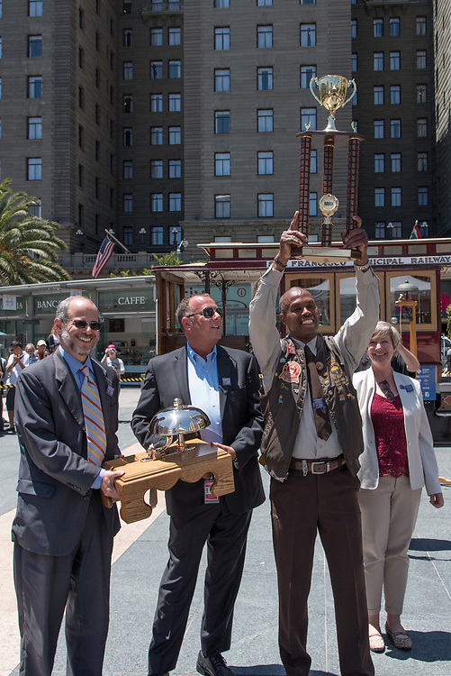 Byron Cobb Winning 1st Place at the 54th Annual Cable Car Bell Ringing Contest | July 13, 2017