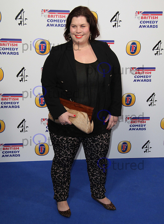 Katy Brand British Comedy Awards, O2 Arena, London, UK, 22 January 2011: Contact: Ian@Piqtured.com +44(0)791 626 2580 (Picture by Richard Goldschmidt)