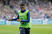 Ousmane Dembele (FRA) at warm up during the Friendly Game football match between France and Spain on March 28, 2017 at Stade de France in Saint-Denis, France - Photo Stephane Allaman / ProSportsImages / DPPI
