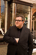 Alber Elbaz, The Launch of the Lanvin store on Mount St. Presentation and cocktails.  London. 26 March 2009