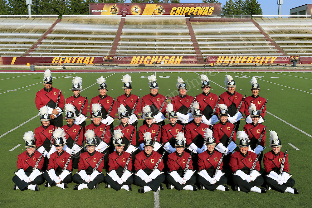 Central Michigan University Marching Band pre-season 2013. Photos by Steve Jessmore/Central Michigan University