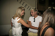 Olivia Buckingham and Richard Dennen, Cartier Polo Players Party, The Collection, 264 Brompton Road, London, SW3, 25 July 2006. ONE TIME USE ONLY - DO NOT ARCHIVE  © Copyright Photograph by Dafydd Jones 66 Stockwell Park Rd. London SW9 0DA Tel 020 7733 0108 www.dafjones.com