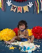 Baby Neil cake smash