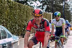 Jean-Pierre Drucker (LUX) of BMC Racing Team, Velodrome Roubaix, Paris-Roubaix, UCI WorldTour, France, 12 April 2015, Photo by Pim Nijland / PelotonPhotos.com
