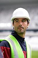 Marc PLASIL - 23.03.2015 - Visite du Stade de Bordeaux -<br /> Photo : Caroline Blumberg / Icon Sport *** Local Caption ***