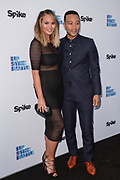 """CHRISSY TEIGEN and JOHN LEGEND attend Spike TV's 'For Your Consideration Event' for the members of the Television Academy with a screening of """"Lip Sync Battle"""" on June 14, 2016 at the Television Academy in North Hollywood, California."""