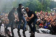 Vassendgutane. Sommerfestivalen i Selbu 2009. Foto: Bente Haarstad Vassendgutane. Sommerfestivalen i Selbu er en av Norges største musikkfestivaler. Sommerfestivalen is one of the biggest music festivals in Norway.