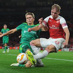 Arsenal v F.C. Vorskla, Europa League, 20 September 2018