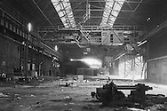 Derelict steelworks, Hadfields Leeds Road Works, Formerly Brown Bayleys. Sheffield.