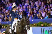 Stephanie Kooijman - Winston<br /> Rabo U25 Cup<br /> Jumping Amsterdam 2016<br /> © DigiShots