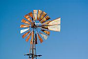 Kansas KS USA, wind powered water pump