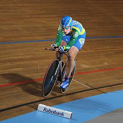 Kirsten Wild NK baanwielrennen 2011 Apeldoorn Achtervolging