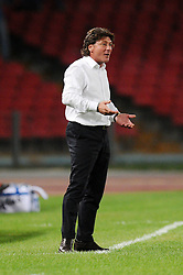 16.09.2010, Stadio San Paolo, Neapel, ITA, UEFA EL, Napoli vs Ultrecht, im Bild Mazzarri Walter ( Napoli 2010/11 ).EXPA Pictures © 2010, PhotoCredit: EXPA/ InsideFoto +++++ ATTENTION - FOR AUSTRIA AND SLOVENIA CLIENT ONLY +++++.. / SPORTIDA PHOTO AGENCY