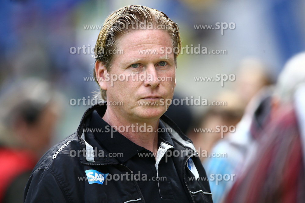 18.04.2015, Rhein Neckar Arena, Sinsheim, GER, 1. FBL, TSG 1899 Hoffenheim vs FC Bayern Muenchen, 29. Runde, im Bild Markus Gisdol (Trainer / TSG 1899 Hoffenheim), Freisteller // during the German Bundesliga 29th round match between TSG 1899 Hoffenheim and FC Bayern Munich at the Rhein Neckar Arena in Sinsheim, Germany on 2015/04/18. EXPA Pictures &copy; 2015, PhotoCredit: EXPA/ Eibner-Pressefoto/ Neis<br /> <br /> *****ATTENTION - OUT of GER*****