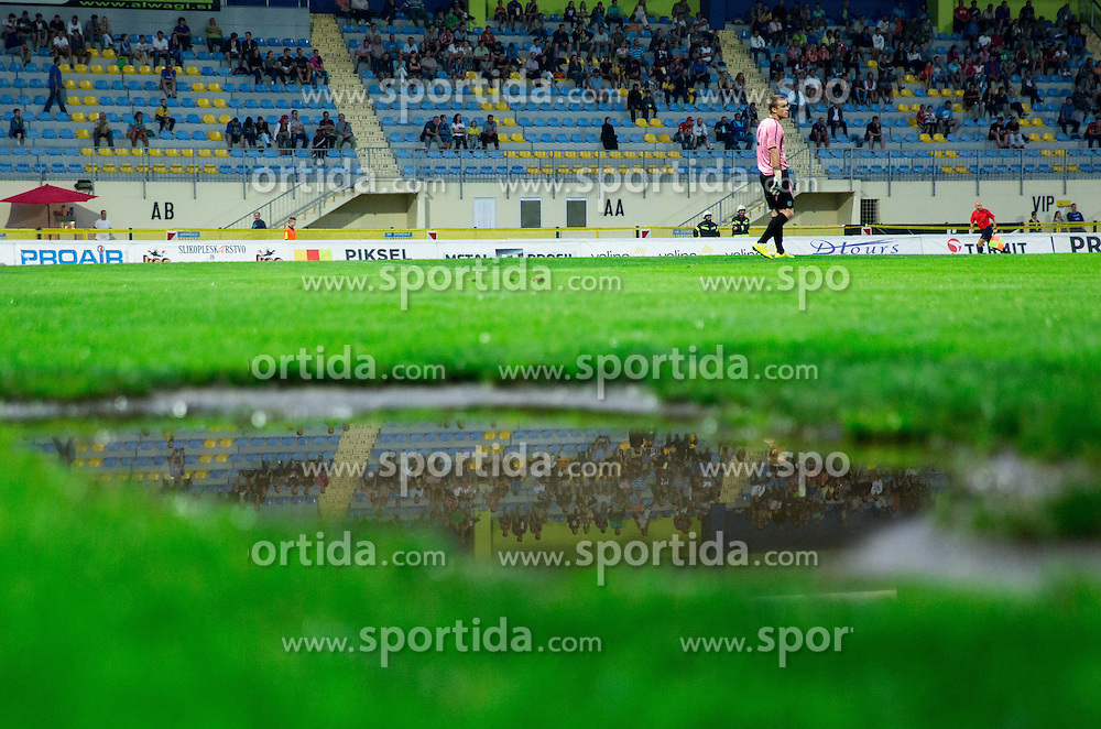Nejc Vidmar of Domzale during football match between NK Domzale and NK Celje in Round 2 of Prva Liga Telekom Slovenije 2014/15, on July 27, 2014 in Domzale, Slovenia. Photo by Vid Ponikvar / Sportida.com