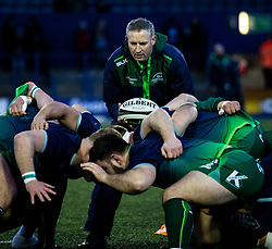 Forwards Coach Jimmy Duffy of Connacht<br /> <br /> Photographer Simon King/Replay Images<br /> <br /> Guinness PRO14 Round 14 - Cardiff Blues v Connacht - Saturday 26th January 2019 - Cardiff Arms Park - Cardiff<br /> <br /> World Copyright © Replay Images . All rights reserved. info@replayimages.co.uk - http://replayimages.co.uk