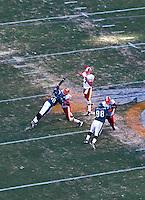Philadelphia Eagles Defensive Lineman are held back by the Washington Redskins Offensive  Linemen