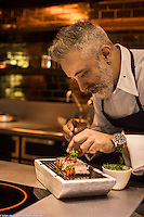 Client: Raffles Istanbul Hotel at Arola Restaurant with 2 Michelin Star Chef Sergi Arola.<br />