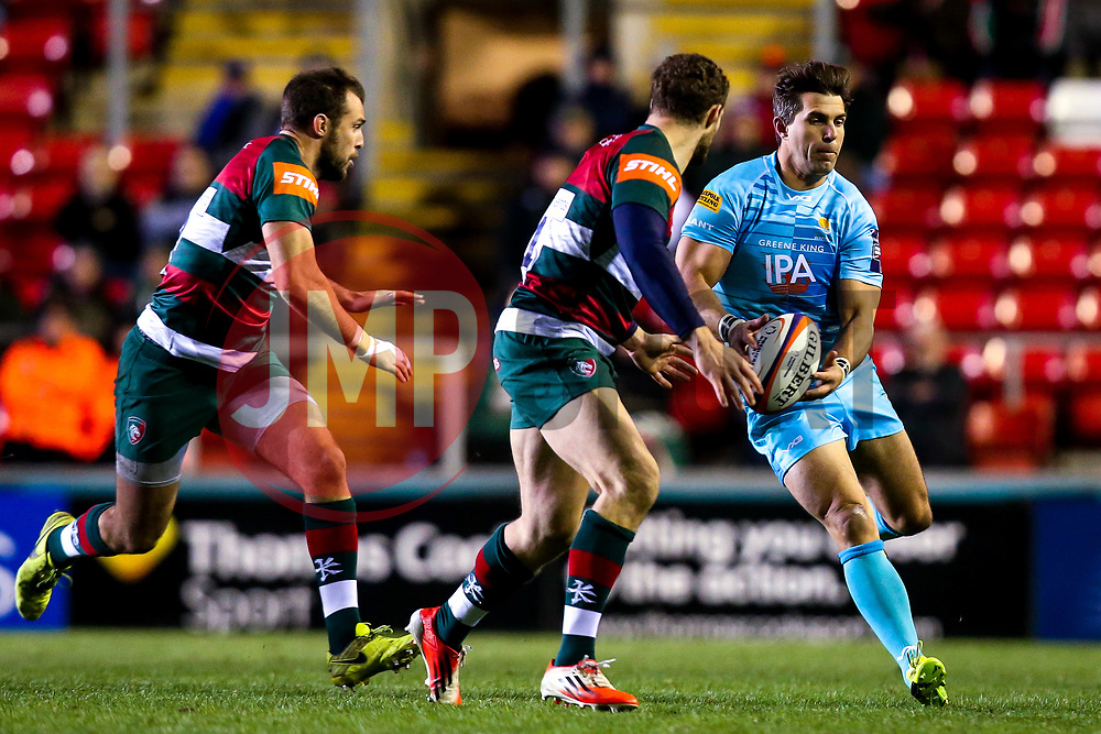 Wynand Olivier of Worcester Warriors - Mandatory by-line: Robbie Stephenson/JMP - 03/11/2018 - RUGBY - Welford Road Stadium - Leicester, England - Leicester Tigers v Worcester Warriors - Gallagher Premiership Rugby