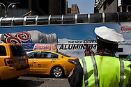 New York Times square, 42nd street , traffic