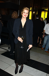 Designer SOPHIA KOKOSALAKI at the 2005 British Fashion Awards held at The V&A museum, London on 10th November 2005.<br />