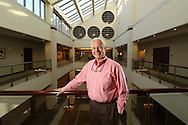 Staff Photo by Dan Henry / The Chattanooga Times Free Press- 9/28/16. David Wade, president of EPB, stands in the downtown Chattanooga office's seventh floor overlook on September 28, 2016.
