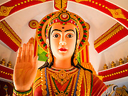 30 SEPTEMBER 2012 - BANGKOK, THAILAND: A room dedicated to Shiva at the Shiva Temple in the Raminthra neighborhood of Bangkok, Thailand. The temple is popular with Bangkok's Indian community.      PHOTO BY JACK KURTZ