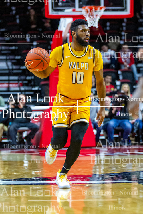 NORMAL, IL - February 15: Eron Gordon during a college basketball game between the ISU Redbirds and the Valparaiso Crusaders on February 15 2020 at Redbird Arena in Normal, IL. (Photo by Alan Look)