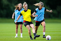 Jas Matthews and Gemma Evans of Bristol City Women during training at Failand - Mandatory by-line: Robbie Stephenson/JMP - 26/09/2019 - FOOTBALL - Failand Training Ground - Bristol, England - Bristol City Women Training